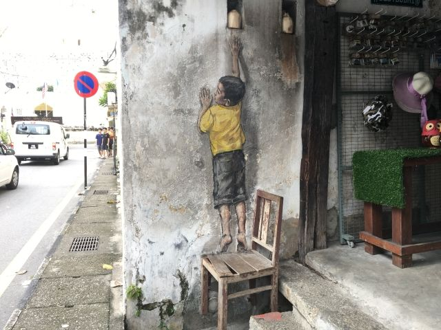 Cool Penang Street Art: Murals, and Other Wall Art, Not To Miss.