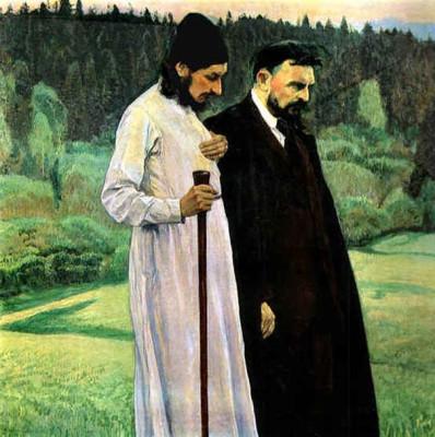 Pavel Florensky and Sergei Bulgakov.
