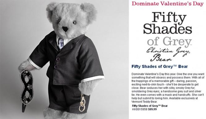 964 - 50 Shades Teddy Bear