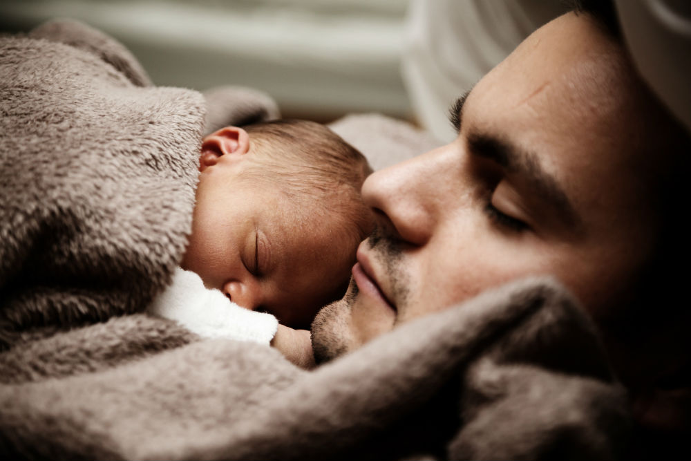 Father and Child - Small