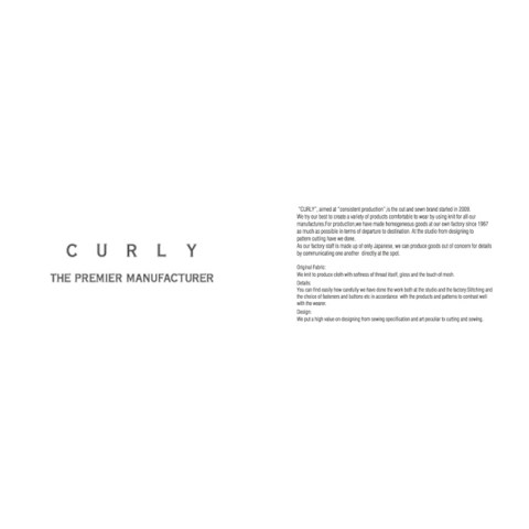 CURLY 2016SS