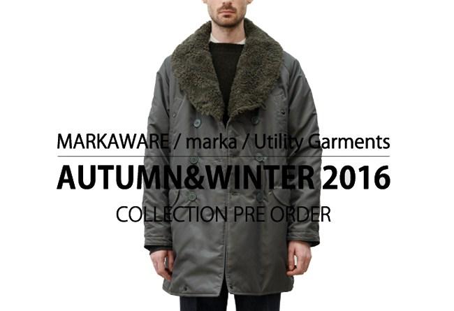 MARKAWARE2016FW_preorder
