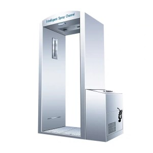 Disinfection Spray Booth 1