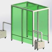 Disinfection Spray Booth Tunnel