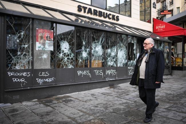 i 54 - 28 imágenes que muestran el drama de las protestas en Francia