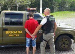 Foragido do RJ é preso em Nova Araçá