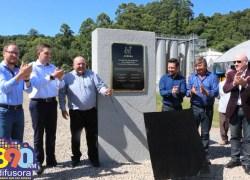 Vinícola Aurora inaugura a pedra fundamental da construção da nova fábrica