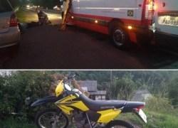 Jovem fica ferida após acidente de trânsito no Goretti em Bento