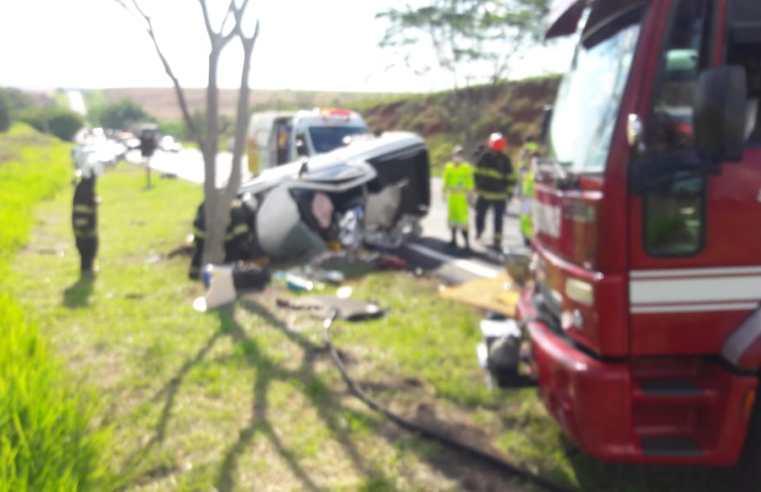 Grave acidente com morte na rodovia SP-333