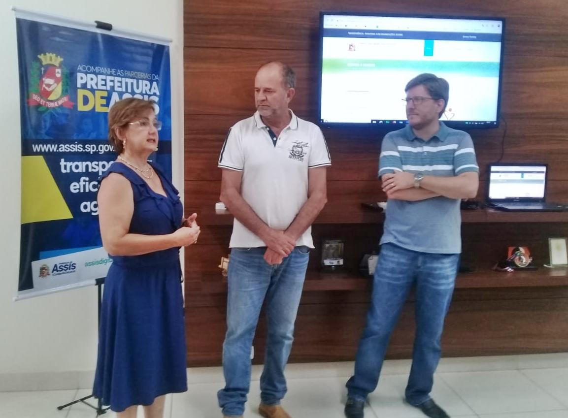 Buscando transparência nos repasses, Prefeitura de Assis lança Portal das Parcerias com Terceiro Setor
