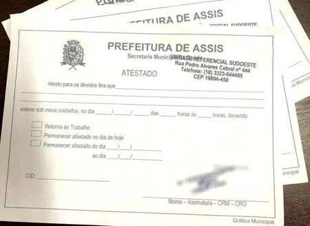 Polícia prende empresário de Assis suspeito de falsificar documentos e atestados médicos