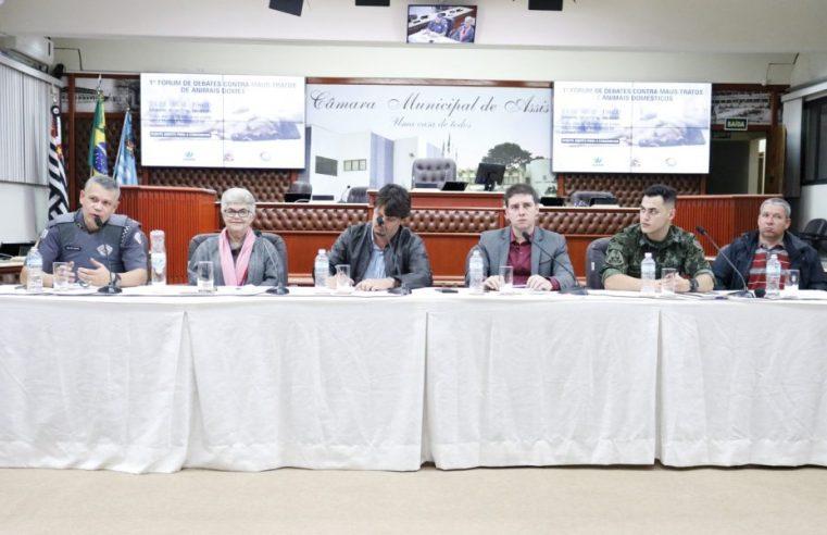 Fórum de debates contra maus-tratos de animais domésticos define pauta de ação em Assis