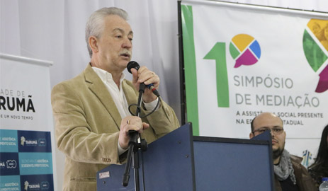 Simpósio de Mediação de Tarumã quer aproximar a Assistência Social da Educação Estadual