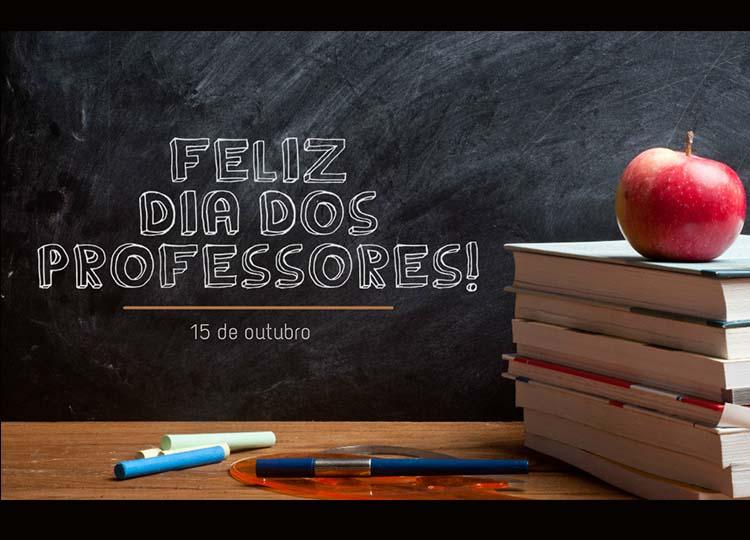 Secretaria Municipal de Educação parabeniza todos os professores pelo seu dia