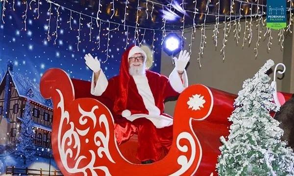 Com shows e sorteios, Prefeitura de Pedrinhas Paulista promove programação de Natal