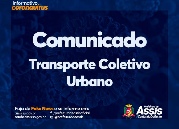 Horários de transporte coletivo urbano em Assis são alterados como medidas preventivas