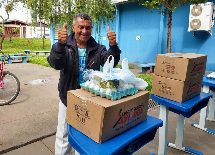 Fundo Social solicita doações de alimentos para compor cestas básicas a famílias carentes