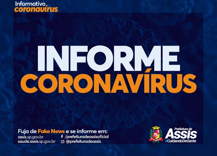 Com 61 casos de COVID-19, Assis tem 46 curados