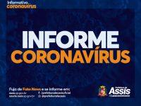 Mais 7 pacientes são confirmados com COVID-19 em Assis