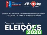 AssisCity e Rádio Difusora na cobertura completa das eleições 2020