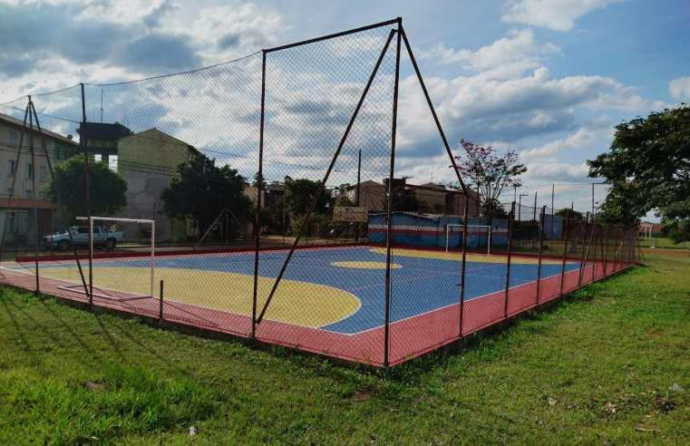 Prefeitura implanta melhorias em estádios e praças esportivas