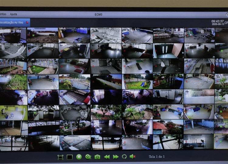 Já estão em processo de instalação 35 pontos para cerca de 100 câmeras de segurança em ruas de Assis