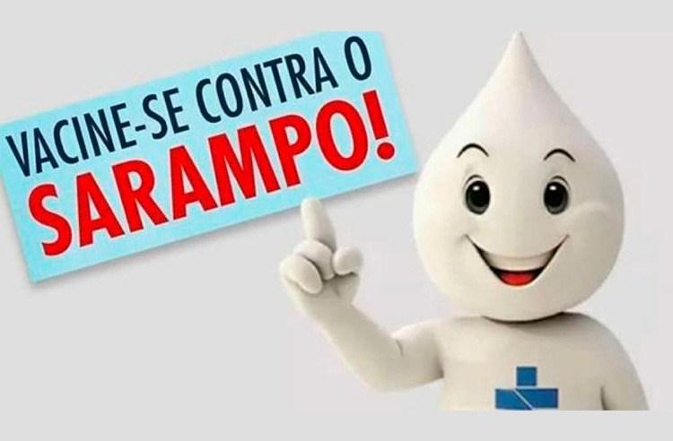 Vacinação contra Sarampo é prorrogada até 31 de outubro