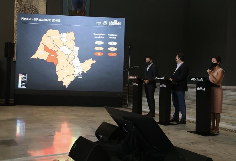 Governo põe região de Marília na fase vermelha e outras 10 na laranja do Plano SP
