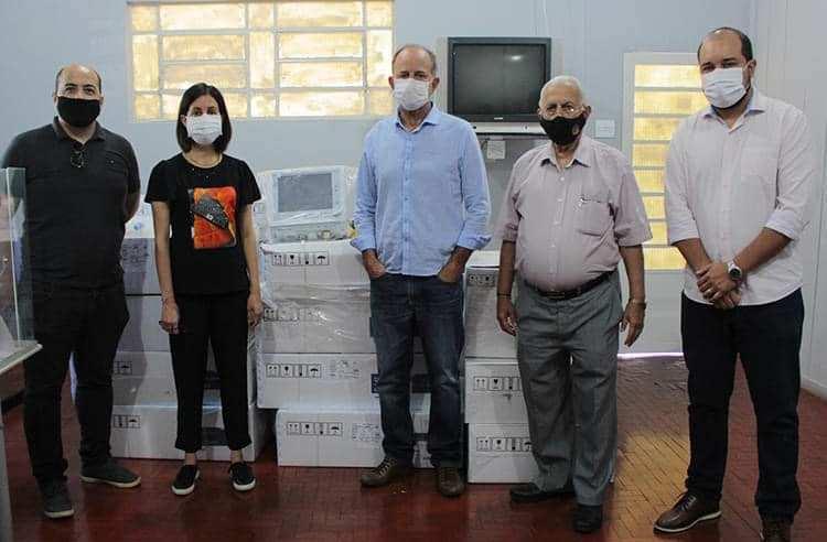 Cidade de Assis ganha 10 respiradores