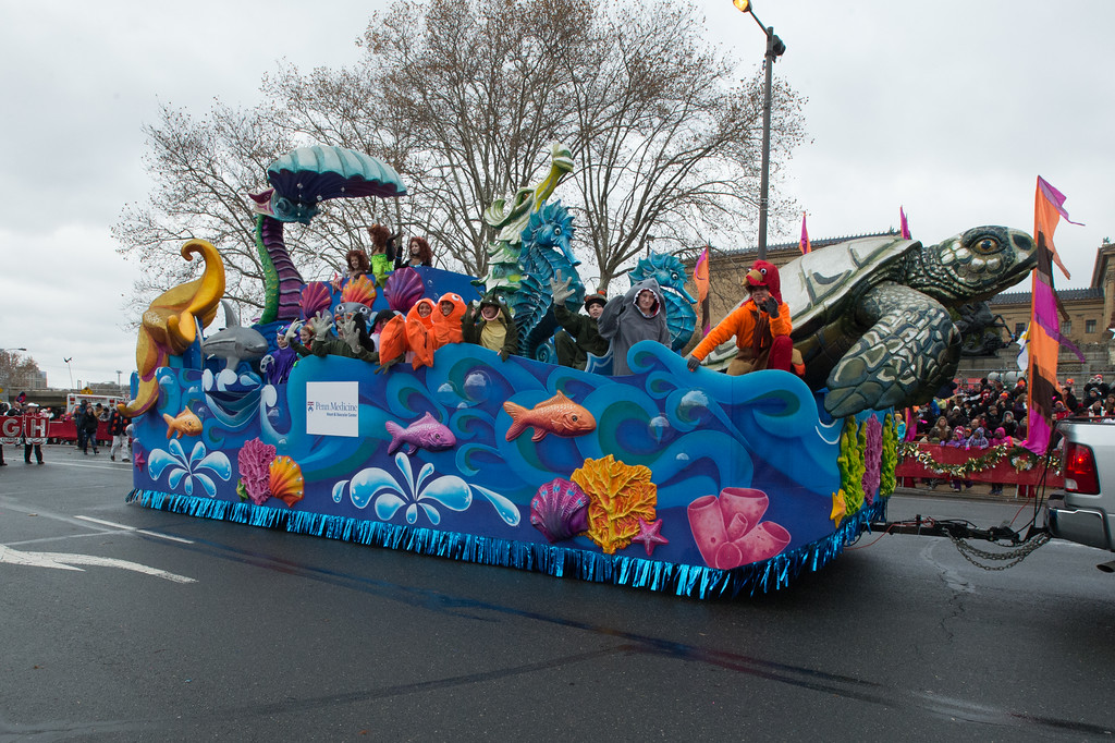Under The Sea Christmas Parade Float