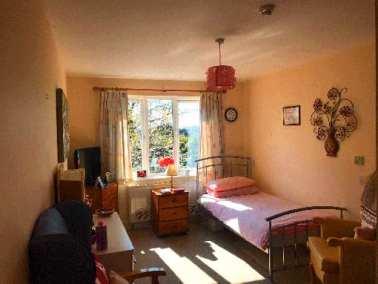 Single bedroom in Digby Manor Care Home Birmingham