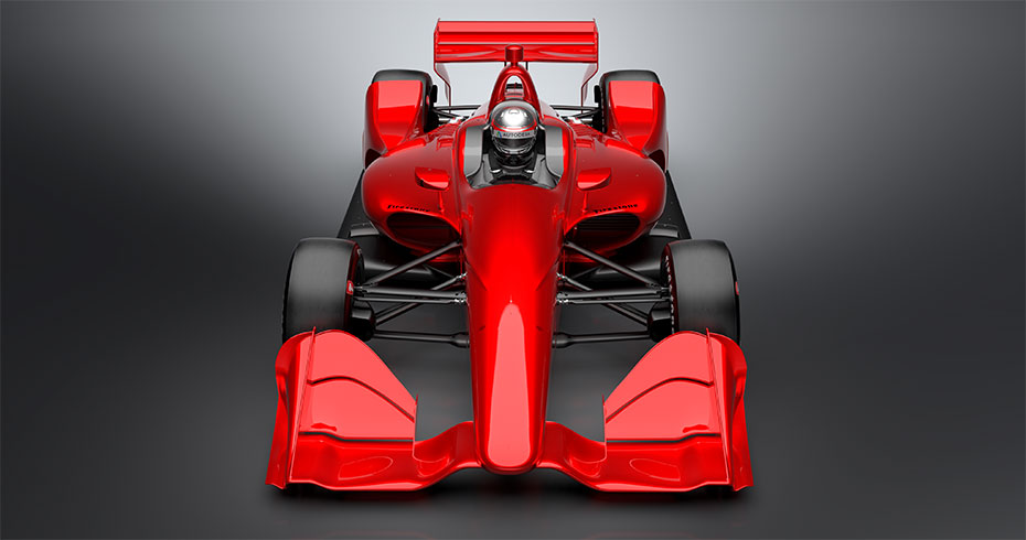 New 2018 Aero Kit Concept Rendering