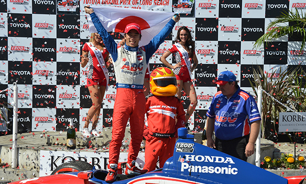 Takuma Sato wins the Toyota Grand Prix of Long Beach