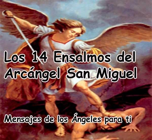 Los 14 ENSALMOS REALES de SAN MIGUEL ARCÁNGEL ❤ PARA PROTEGERSE Y VENCER A CUALQUIER ENEMIGO