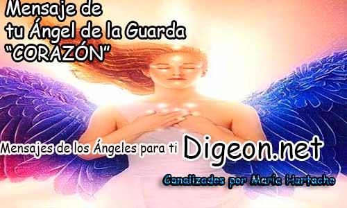 MENSAJE DE TU ÁNGEL DE LA GUARDA - CORAZÓN