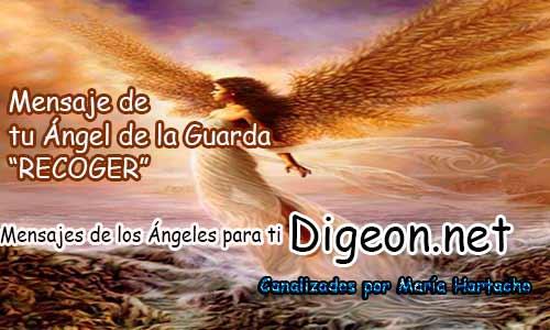 MENSAJE DE TU ÁNGEL DE LA GUARDA - 07-12-2017 - RECOGER