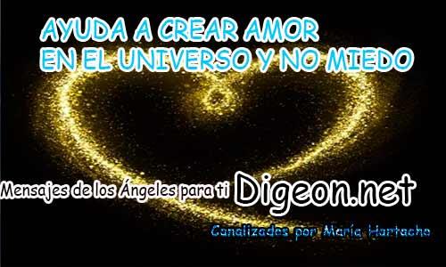 AYUDA A CREAR AMOR EN EL UNIVERSO Y NO MIEDO