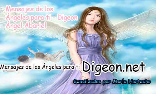 MENSAJES DE LOS ÁNGELES PARA TI - Digeon - Ángel Abariel - Día 880y Decreto Del Arcángel Miguel + Consejo de tu Ángel para hoy 20/04/2018.