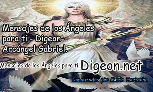 MENSAJES DE LOS ÁNGELES PARA TI - Digeon - Arcángel Gabriel - Día 869y Decreto Del Arcángel Miguel + decreto para la Riqueza y Abundancia.