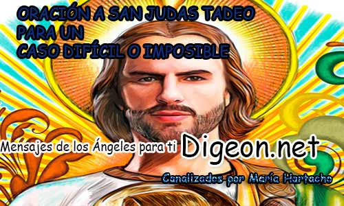 Oracion A San Judas Tadeo Para Un Caso Dificil O Imposible