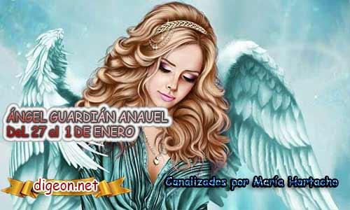 ÁNGEL GUARDIÁN ANAUEL. Todo sobre el ángel guardian Anauel, lo que otorga, el salmo para invocarlo y el mensaje del ángel. Regente Del 28 al 1 de FEBRERO