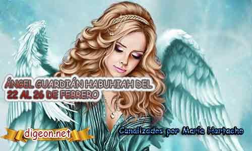 Ángel Guardian HABUHIAH.Todo sobre el ángel guardian Habuhiah, lo que otorga, el salmo para invocarlo y el mensaje del ángel. Regente Del 22 al 26 de Febrero