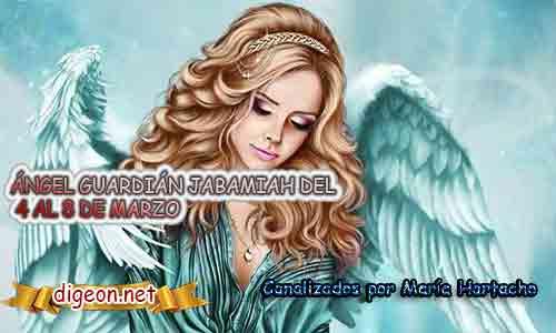 ÁNGEL GUARDIÁN JABAMIAH.Todo sobre el ángel guardian Jabamiah, lo que otorga, el salmo para invocarlo y el mensaje del ángel. Regente Del 4de Febrero al 8 de Marzo