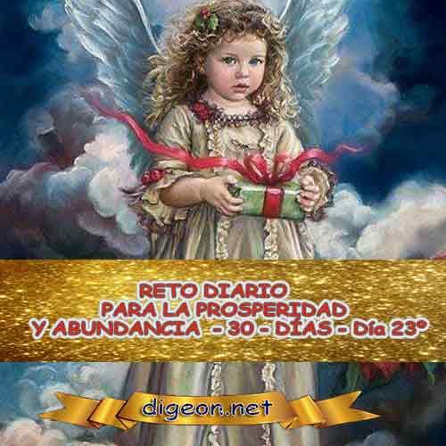 RETO PARA LA PROSPERIDAD Y ABUNDANCIA 08/11/2018 - Día 23º