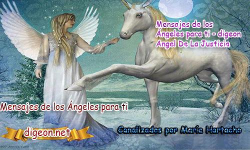 MENSAJES DE LOS ÁNGELES PARA TI - Digeon - 07/12/2018Ángel De La Justicia - Día 1.044 + Consejo De Tu Ángely código de activación de la Abundancia universalPara Hoy