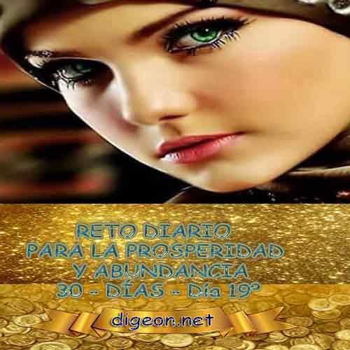 RETO PARA LA PROSPERIDAD Y ABUNDANCIA 06/12/ 2018 - Día 18º Este es un reto para la prosperidad y abundancia que realizaremos durante 30 días