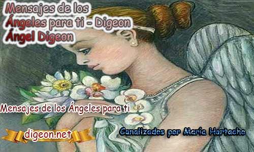 MENSAJES DE LOS ÁNGELES PARA TI - Digeon - 22 de Marzo