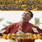 RETO PARA LA RIQUEZA Y ABUNDANCIA - Día 25º