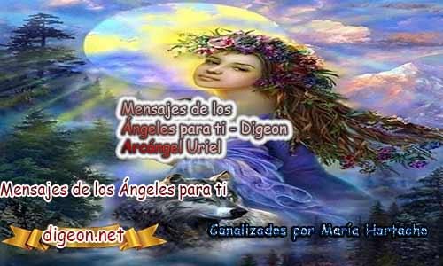 MENSAJES DE LOS ÁNGELES PARA TI - Digeon - 22 de Abril