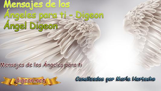 MENSAJES DE LOS ÁNGELES PARA TI - Digeon - 23 de Mayo